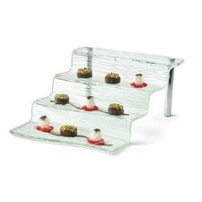 Cristal Acrylic 4 Step Appetizer Waterfall