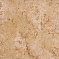 "Bruselas 13"" x 13"" Ceramic Floor Tile in Gold"