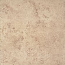 """Bruselas 16"""" x 16"""" Ceramic Floor Tile in Noce"""