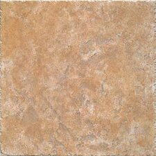 "Creekstone 20"" x 20"" Ceramic Floor and Wall Tile in Gold"