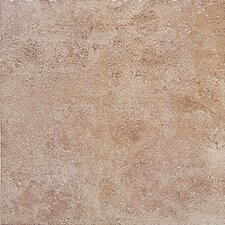 "Montreaux 18"" x 18"" Ceramic Floor Tile in Brun"