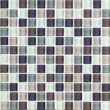 """Shimmer Blends 1"""" x 1"""" Matte Mosaic in Autumn"""