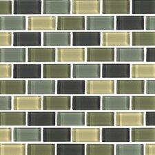 Shimmer Blends Ceramic Glossy Mosaic in Ocean