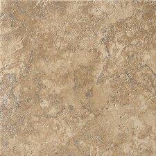 """Artea Stone 13"""" x 13"""" Field Tile in Cappuccino"""