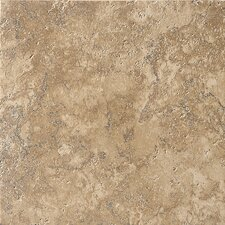 """Artea Stone 20"""" x 20"""" Field Tile in Cappuccino"""