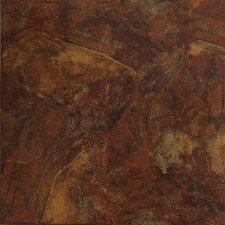 """Imperial Slate 16"""" x 16"""" Field Tile in Rust"""