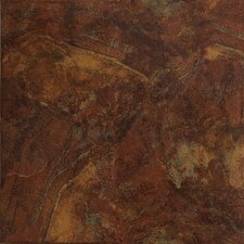 "Imperial Slate 12"" x 12"" Field Tile in Rust"