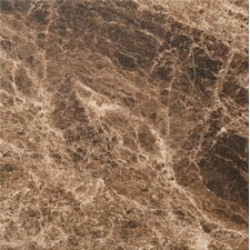 "<strong>Marazzi</strong> Timeless Collection 19- 9/16"" x 19- 9/16"" Field Tile in Emperador Mocha"
