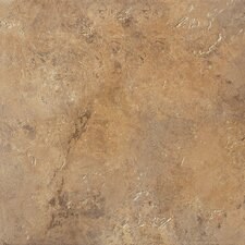 "Aida 12"" x 12"" Field Tile in Brown"
