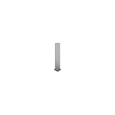 "Artea Stone 1"" x 6"" Sanitary Cove Base Out Angle Tile Trim in Noce"