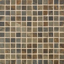 "<strong>Marazzi</strong> Jade 13"" x 13"" Decorative Square Mosaic in Sage"