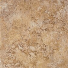 """Tosca 13"""" x 13"""" Field Tile in Noce"""