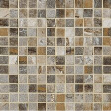"<strong>Marazzi</strong> Vesale Stone 13"" x 13"" Decorative Square Mosaic in Smoke"