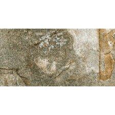 "Vesale Stone 10"" x 20"" Modular Tile in Moss"