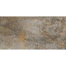 "Vesale Stone 10"" x 20"" Modular Tile in Smoke"