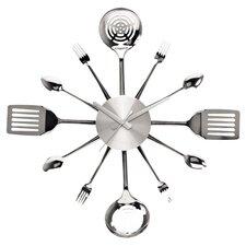 Silverware Utensils Wall Clock