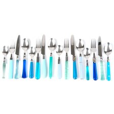 16 Piece Cutlery Set in Sea Green