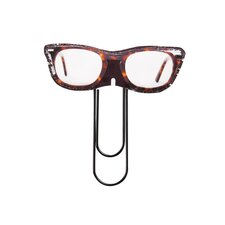 Glasses Paperclip Book Light