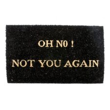 Oh No Door Mat