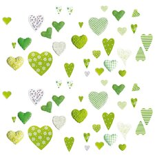 """Green Love"" Wall Sticker"
