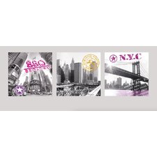 """New York Impressions"" Wall Sticker"