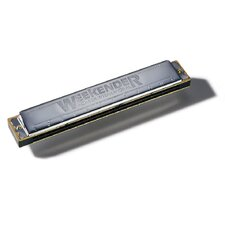 <strong>Hohner</strong> Weekender 24 Hole Harmonica in Chrome - Key of C