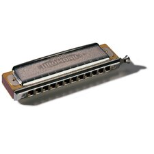 Super Chromonica Harmonica in Chrome - Key of F