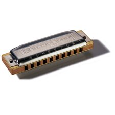 Blues Harp MS Harmonica in Chrome - Key of Bb
