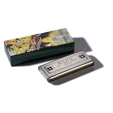 "Echo 4.63"" Tremolo Harmonica in Chrome - Key of C / G"