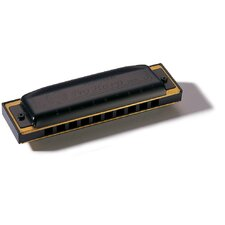 Pro Harp MS Harmonica in Black - Key of B