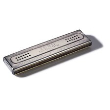"Echo 8.5"" Tremolo Harmonica in Chrome - Key of C / G"