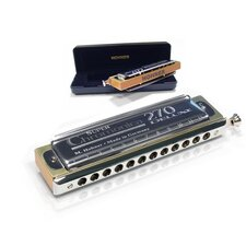 270 Super Chromonica Deluxe Harmonica in Chrome - Key of C