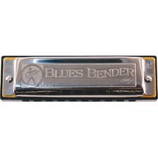 Blues Bender Harmonica in Chrome - Key of D