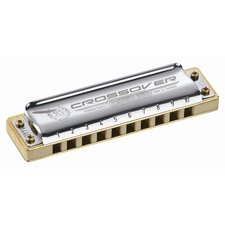 Marine Band Crossover Harmonica in Chrome - Key of B