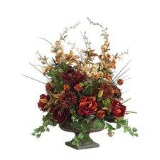 Delphinium / Peony / Ranunculus in Ceramic Container