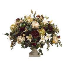 Lily / Peony / Hydrangea / Ranunculus in Urn