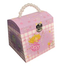 Becca Girl's Musical Fairy Princess Purse Jewelry Box