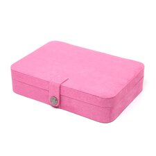 Maria Plush Fabric Jewelry Box