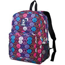 <strong>Wildkin</strong> Ashley Peace Signs Crackerjack Backpack