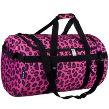 Pink Leopard Large Duffel