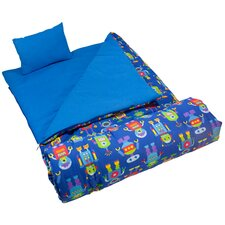 <strong>Wildkin</strong> Olive Kids Robots Sleeping Bag