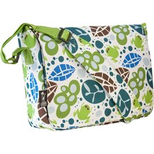 <strong>Wildkin</strong> Lily Frogs Kickstart Messenger Bag