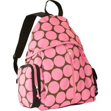 Ashley Big Dots Pink Soccer Bag