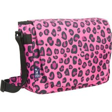 <strong>Wildkin</strong> Pink Leopard Laptop Messenger Bag