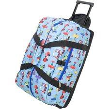 Olive Kids Trains, Planes & Trucks Rolling Duffel Bag