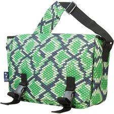 Jumpstart Snake Skin Messenger Bag