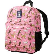 Horses in Pink Crackerjack Backpack