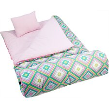 Pink Retro Sleeping Bag
