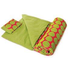 Ashley Big Dot Plush Sleeping Bag