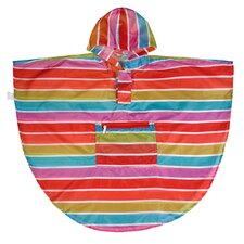 Ashley Bright Stripes Poncho